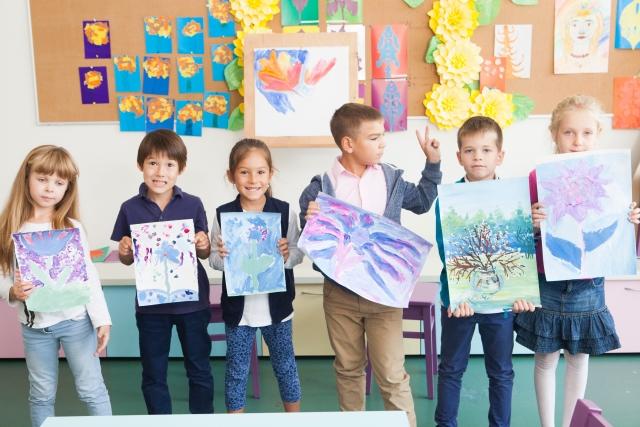 インターナショナルスクールの子供たち